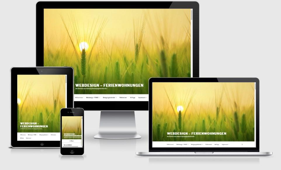 Webdesign für Ihre Ferienwohnung !