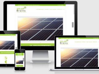 cn-homepageservice - Webseite für solarbrains